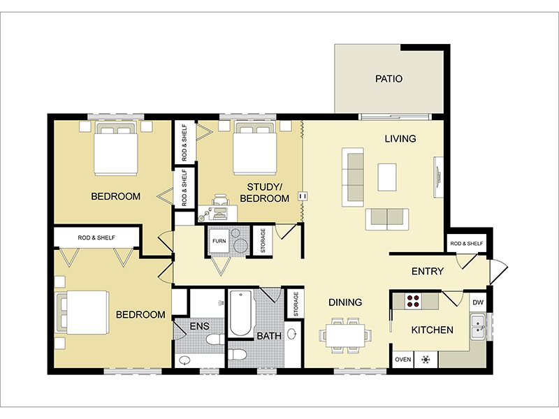 3 Bedroom 2 Bathroom in Salt Lake City, UT