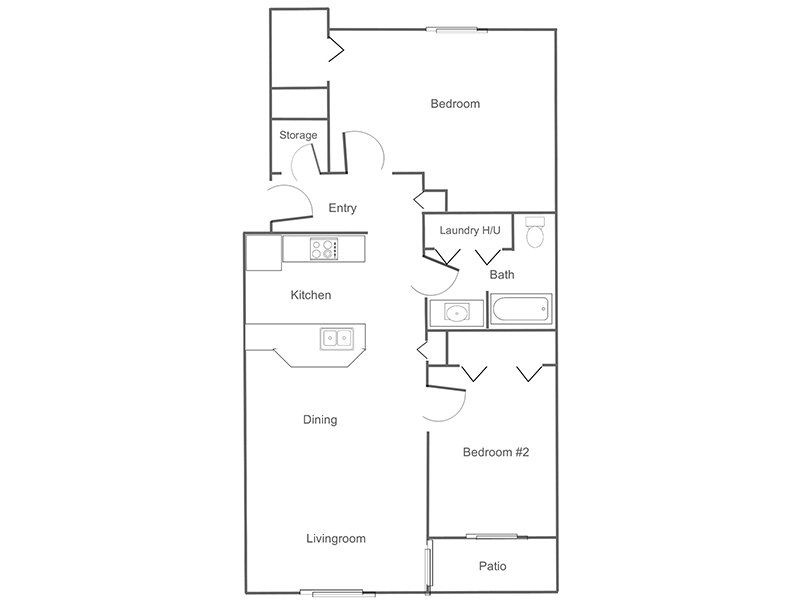 2 Bedroom 1 Bathroom in Mountain Home, ID