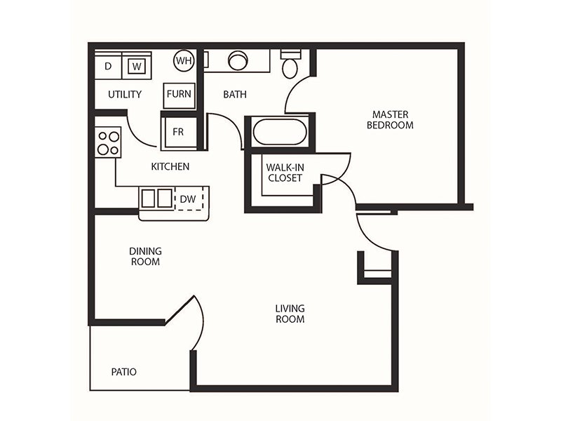 1 Bedroom 1 Bathroom in Sandy, UT