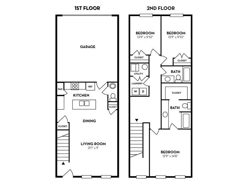 3 Bedroom 2.5 Bathroom in Murray, UT