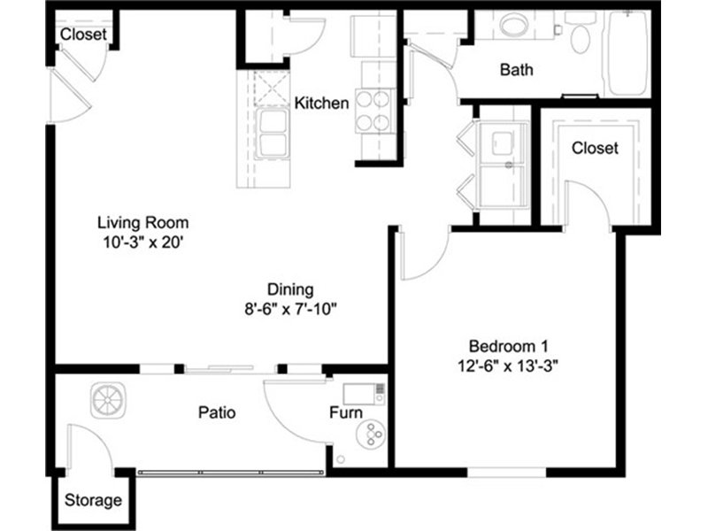 1 Bedroom 1 Bathroom in Murray, UT