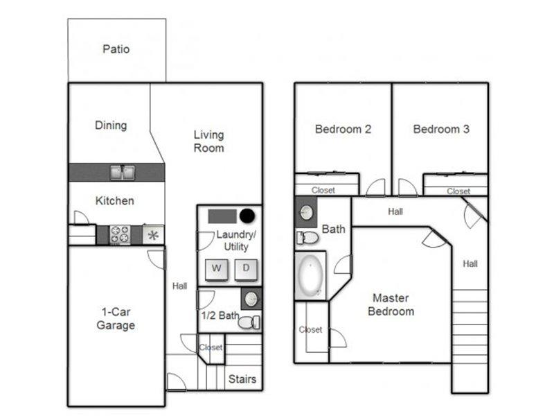 3 Bedroom 1.5 Bathroom in Salt Lake City, UT