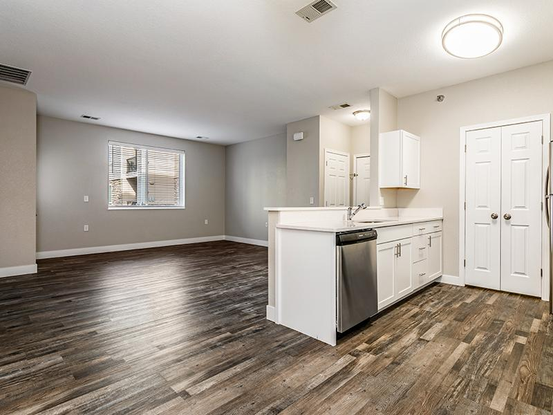 Wood Flooring | South Fork Apartments