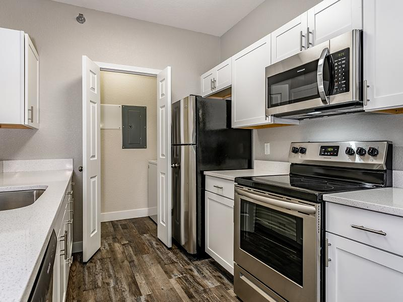 Stainless Steel Appliances | South Fork Apartments