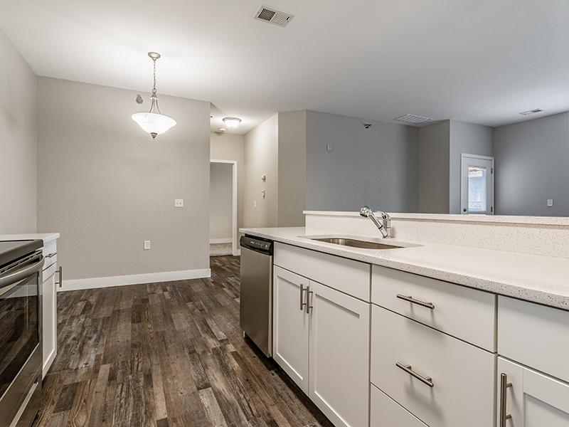 Fully Equipped Kitchen | South Fork Apartments