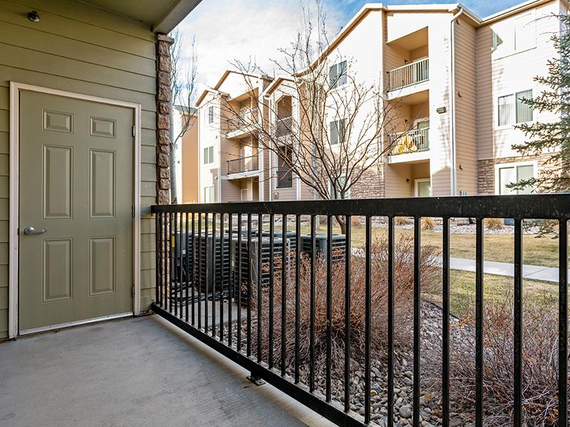 Balcony | South Fork Apartments