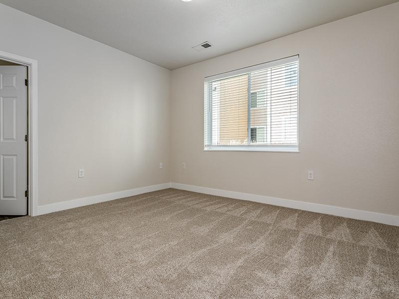 Carpeted Bedroom   South Fork Apartments