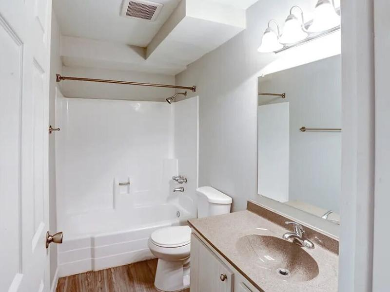 Bathroom | The Park Apartments
