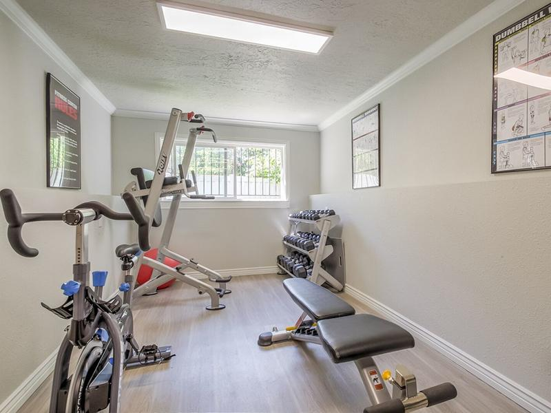 24 Hour Fitness Center | The Park Apartments