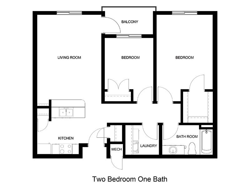 2 Bedroom 1 Bathroom in Clearfield, UT