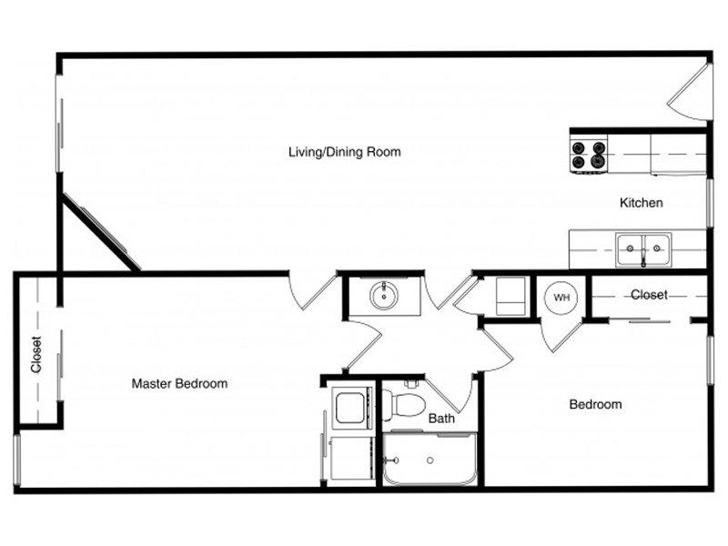 2 Bedroom 1 Bathroom in Murray, UT