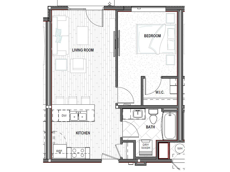 1 Bedroom 1 Bathroom in Salt Lake City, UT
