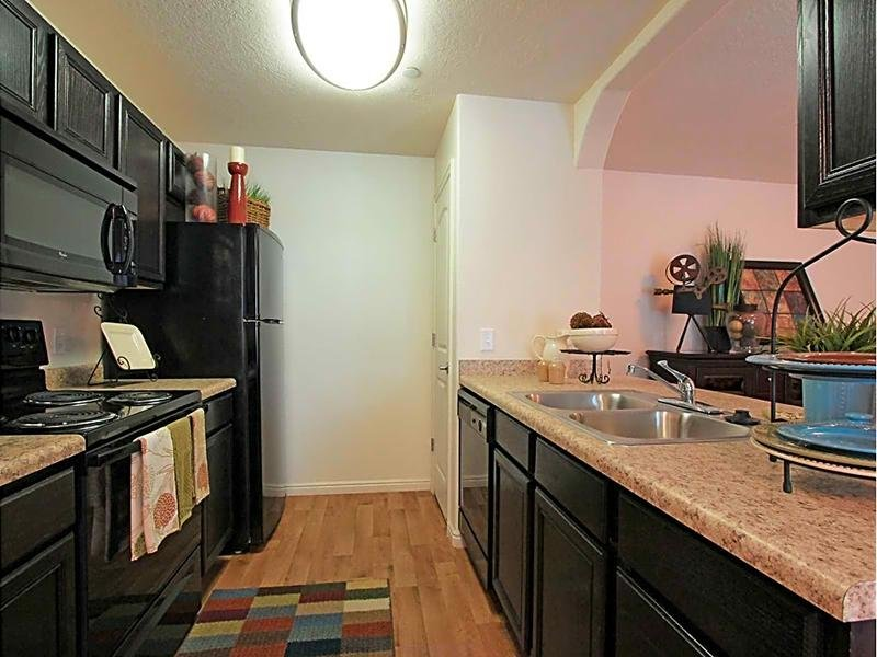 Fully Equipped Kitchen | eGate Apartments in West Valley, UT