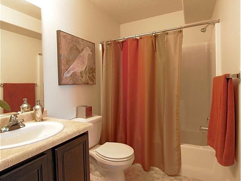 Bathroom | eGate Apartments in West Valley, UT