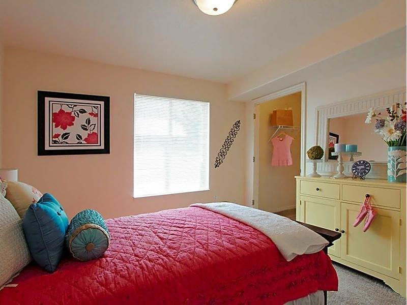 Bedroom | eGate Apartments in West Valley, UT