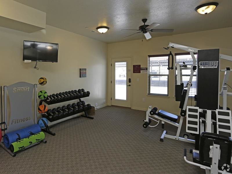 Gym | Fernwood Place Apartments