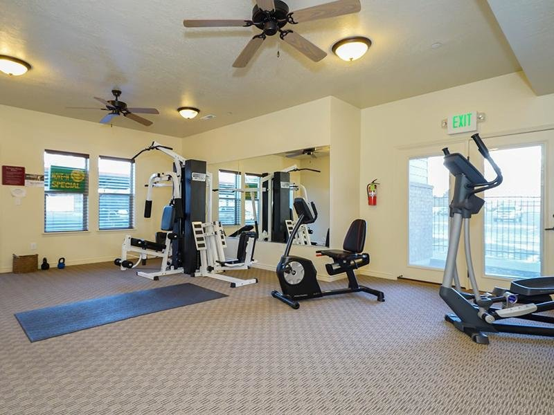 Fitness Center | Fernwood Place Apartments