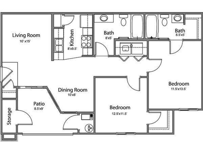 2 Bedroom 2 Bathroom in Murray, UT