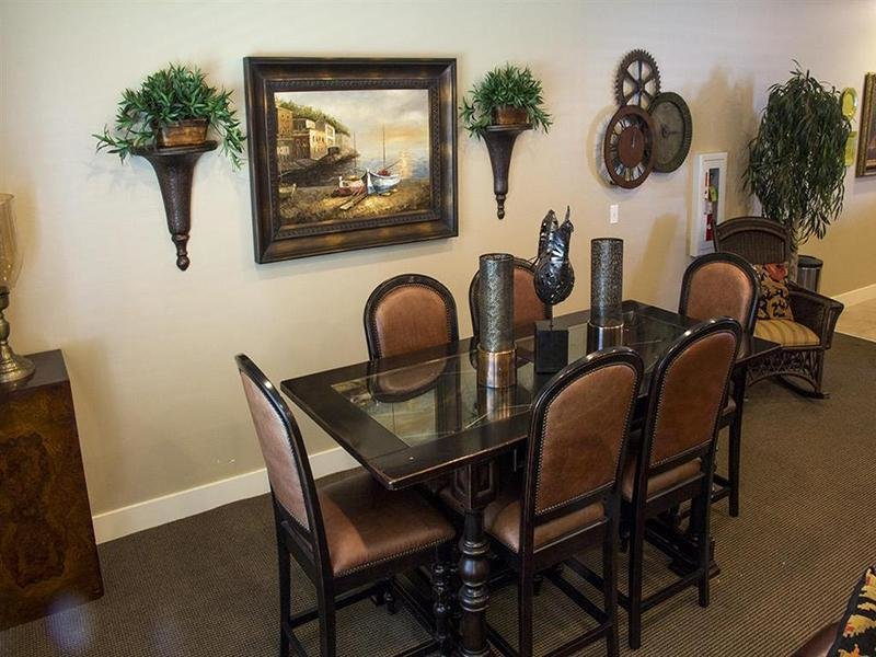 Club House Dining Area | Front Gate Apartments