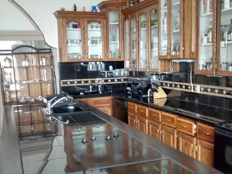 Club House Kitchen | The Kirk Apartments