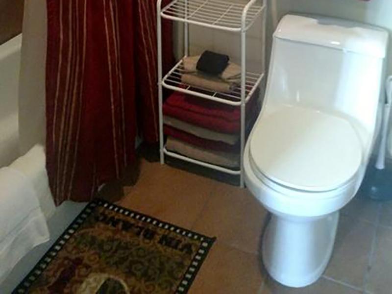Bathroom | The Kirk Apartments in Tooele, UT