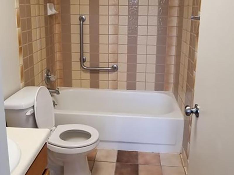 Bathroom   The Kirk Apartments