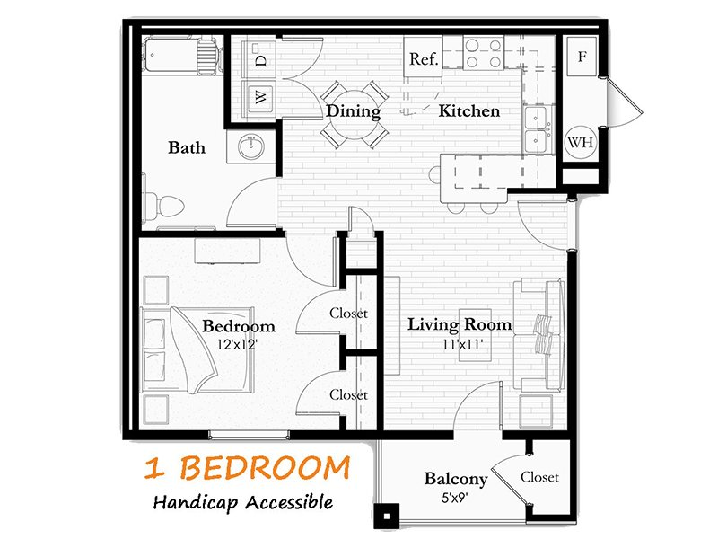 1 Bedroom 1 Bathroom in Helena, MT