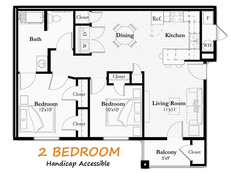 2 Bedroom 2 Bathroom in Helena, MT