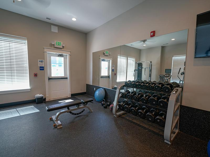 Fitness Center | Remington Apartments in Helena, MT