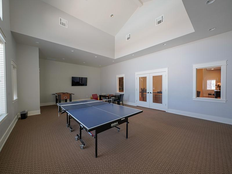Ping Pong Table | Remington Apartments in Helena, MT