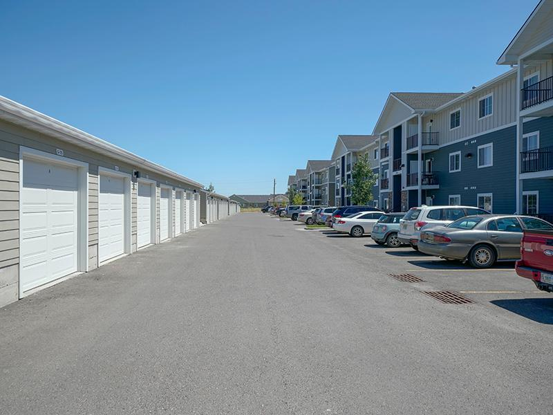 Garages | Remington Apartments in Helena, MT