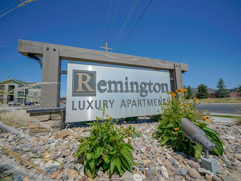 Welcome Sign | Remington Apartments in Helena, MT