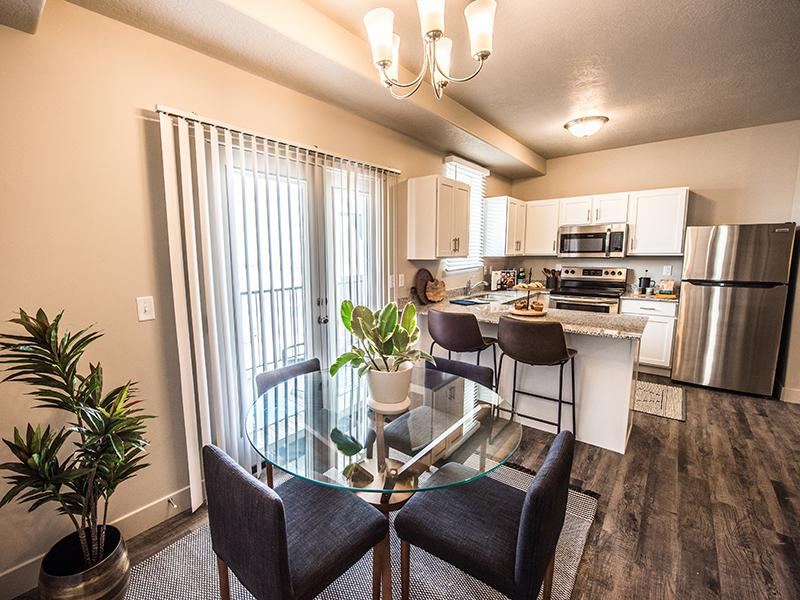 Dining Area & Kitchen | Springs at Copper Canyon in Tooele, UT