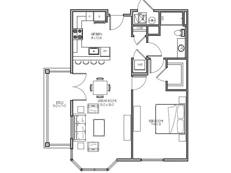 1 Bedroom 1 Bathroom in West Jordan, UT