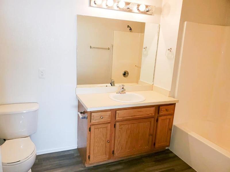 Bathroom Vanity | Stonegate Village Apartments in Pueblo West, CO
