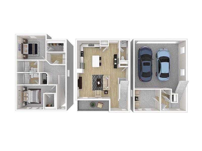 2 Bedroom 2.5 Bathroom in Midvale, UT
