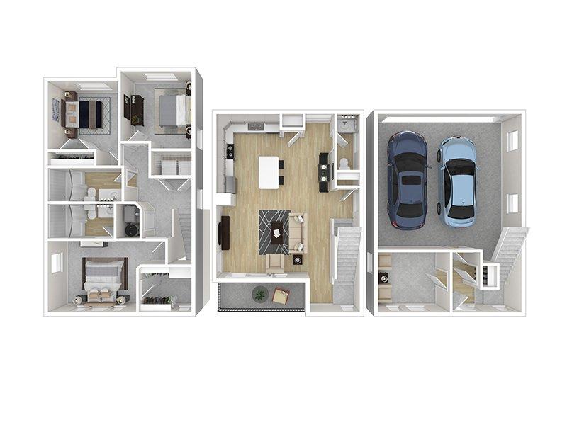 3 Bedroom 2.5 Bathroom in Midvale, UT
