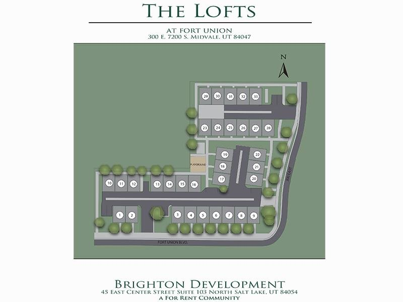 Property Map | The Lofts at Fort Union