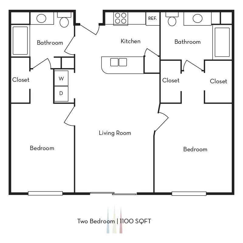 2 Bedroom 2 Bathroom in Ogden, UT