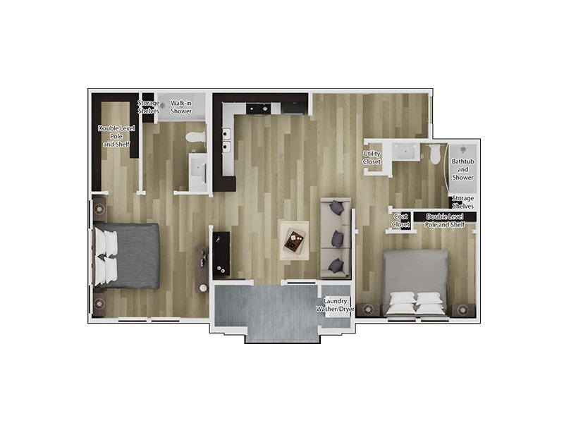 2 Bedroom 2 Bathroom in Santee, CA