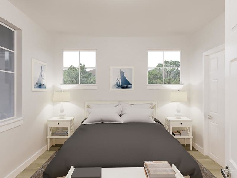 Bedroom   Rendering   Vela Apartments