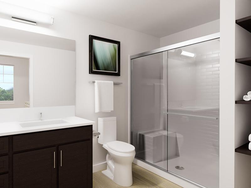 Bathroom   Rendering   Vela Apartments