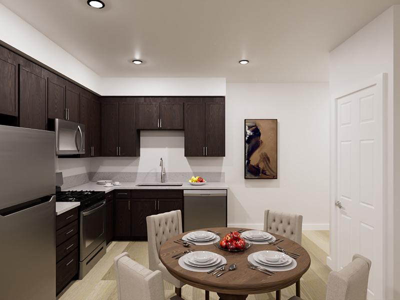 Kitchen   Rendering   Vela Apartments