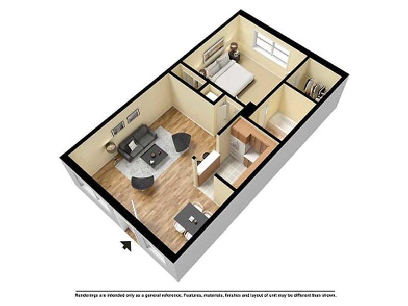 1 Bedroom 1 Bathroom in Amarillo, TX