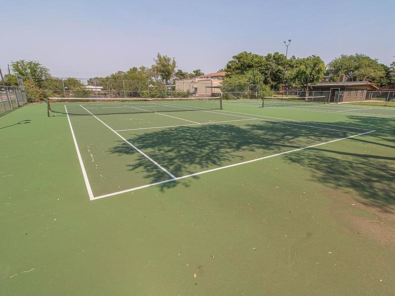Tennis Court   Wellington Apartments