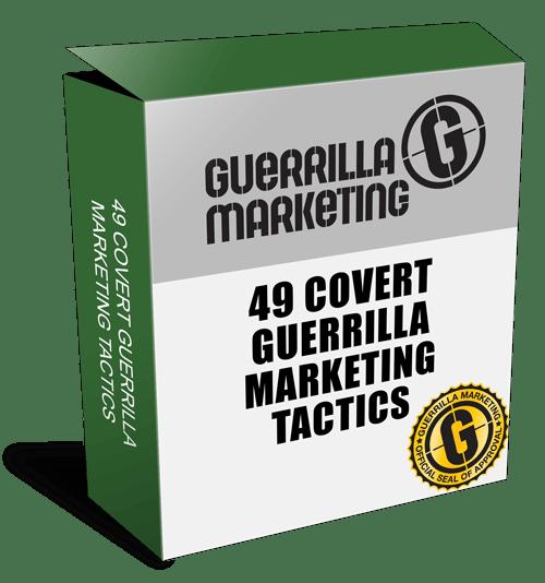 49 GUERRILLA MARKETING TACTICS BOX - Product Review - 49 Covert Guerrilla Marketing Tactics