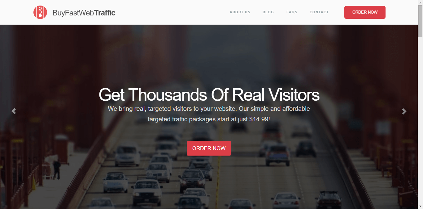 BuyFastWebTraffic Home Page - Free or Low Cost Traffic for Your Website
