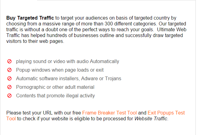 Ultimate Web Traffic Targeted Traffic - Free or Low Cost Traffic for Your Website