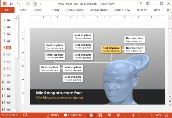 MInd Map Template PP - Mind Maps - How to Create One Easily