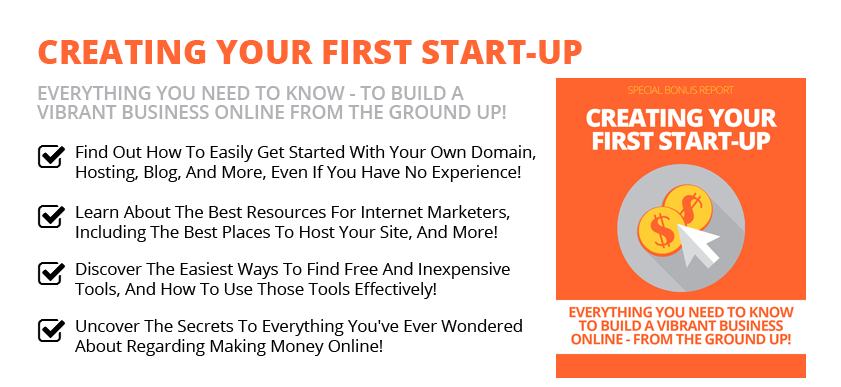 Creating Your Start-Up